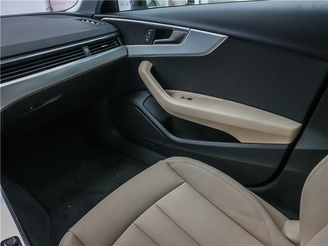 2018 Audi A4 2.0T Progressiv (Stk: 181786A) in Toronto - Image 15 of 28
