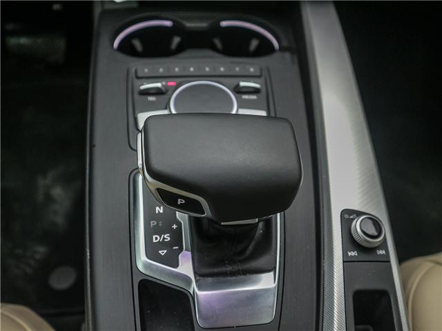 2018 Audi A4 2.0T Progressiv (Stk: 181786A) in Toronto - Image 16 of 28