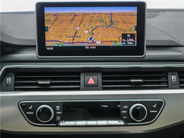 2018 Audi A4 2.0T Progressiv (Stk: 181786A) in Toronto - Image 17 of 28