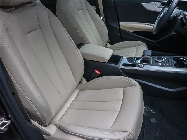 2018 Audi A4 2.0T Progressiv (Stk: 181786A) in Toronto - Image 18 of 28