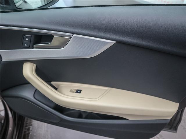 2018 Audi A4 2.0T Progressiv (Stk: 181786A) in Toronto - Image 19 of 28
