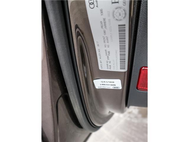 2018 Audi A4 2.0T Progressiv (Stk: 181786A) in Toronto - Image 26 of 28