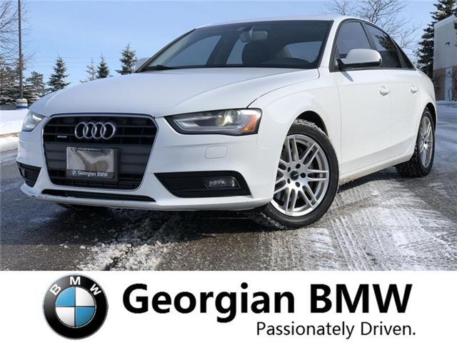 2013 Audi A4 2.0T Premium (Stk: B19097-1) in Barrie - Image 1 of 15