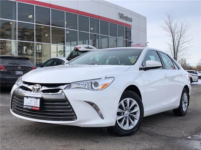 2016 Toyota Camry LE (Stk: U2322) in Vaughan - Image 1 of 22