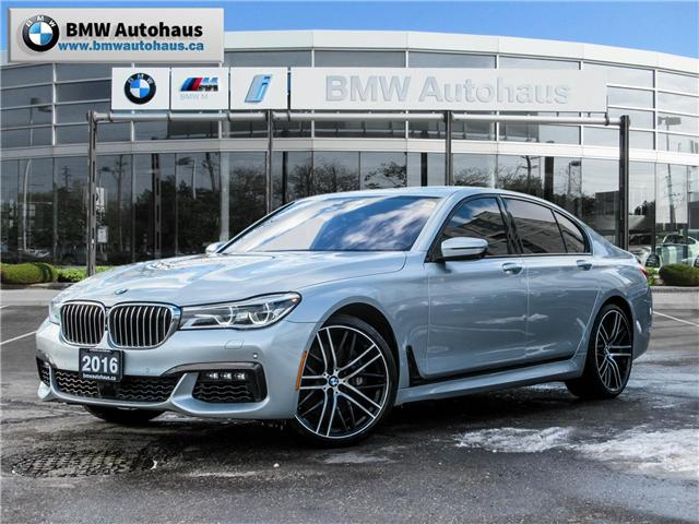 2016 BMW 750i xDrive (Stk: P8765) in Thornhill - Image 1 of 29