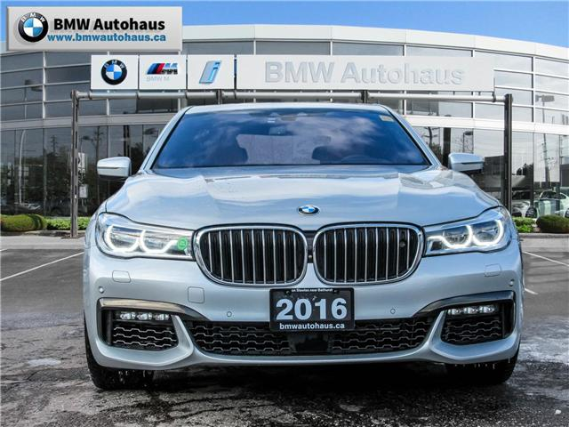 2016 BMW 750i xDrive (Stk: P8765) in Thornhill - Image 2 of 29