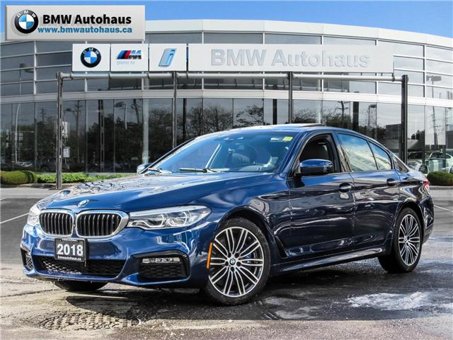 2018 BMW 540i xDrive (Stk: P8777) in Thornhill - Image 1 of 30