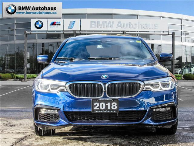2018 BMW 540i xDrive (Stk: P8777) in Thornhill - Image 2 of 30