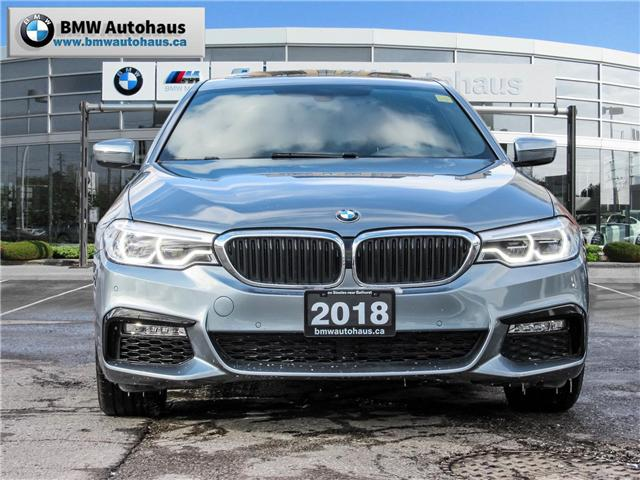 2018 BMW 530i xDrive (Stk: P8779) in Thornhill - Image 2 of 32