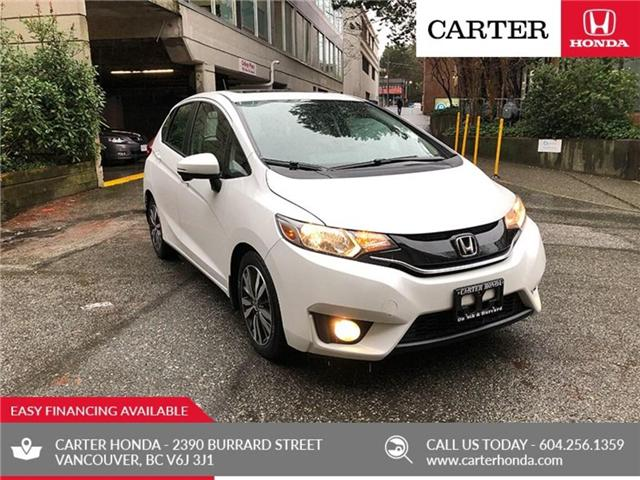 2016 Honda Fit EX-L Navi (Stk: 7K09661) in Vancouver - Image 1 of 21