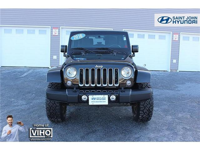 2016 Jeep Wrangler Sahara (Stk: U1668) in Saint John - Image 2 of 17