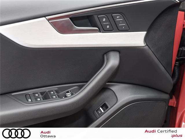 2018 Audi A5 2.0T Progressiv (Stk: 52251) in Ottawa - Image 11 of 22