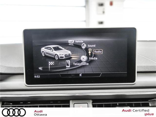2018 Audi A5 2.0T Progressiv (Stk: 52251) in Ottawa - Image 20 of 22