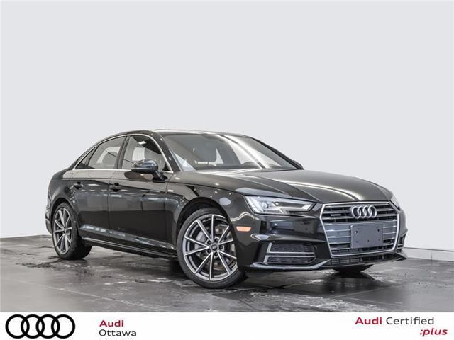 2018 Audi A4 2.0T Progressiv (Stk: PA534) in Ottawa - Image 1 of 22