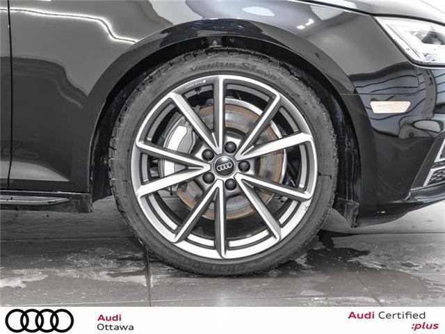 2018 Audi A4 2.0T Progressiv (Stk: PA534) in Ottawa - Image 10 of 22