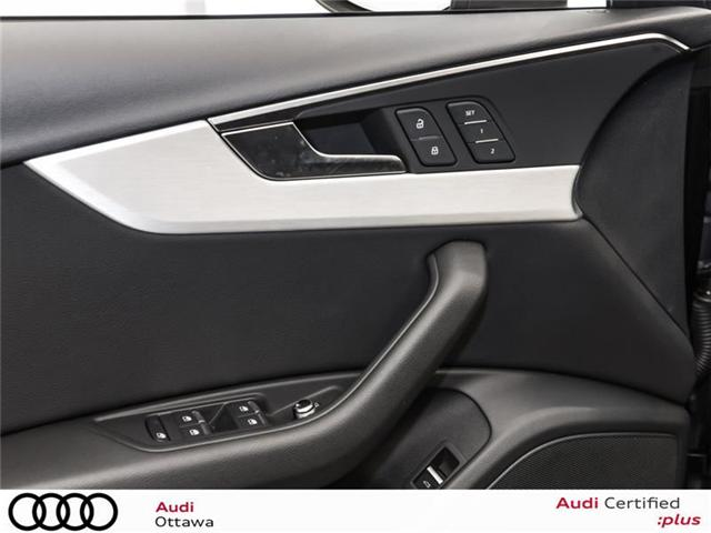 2018 Audi A4 2.0T Progressiv (Stk: PA534) in Ottawa - Image 11 of 22