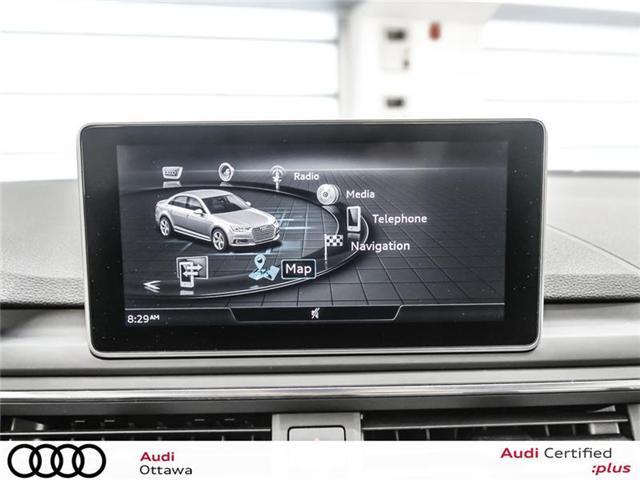 2018 Audi A4 2.0T Progressiv (Stk: PA534) in Ottawa - Image 20 of 22