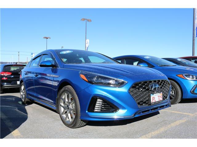2018 Hyundai Sonata 2.0T Sport (Stk: 83050) in Saint John - Image 1 of 2