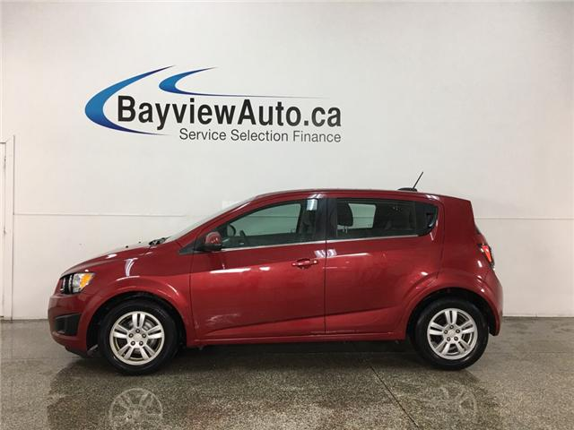 2015 Chevrolet Sonic LT Auto (Stk: 34362R) in Belleville - Image 1 of 22
