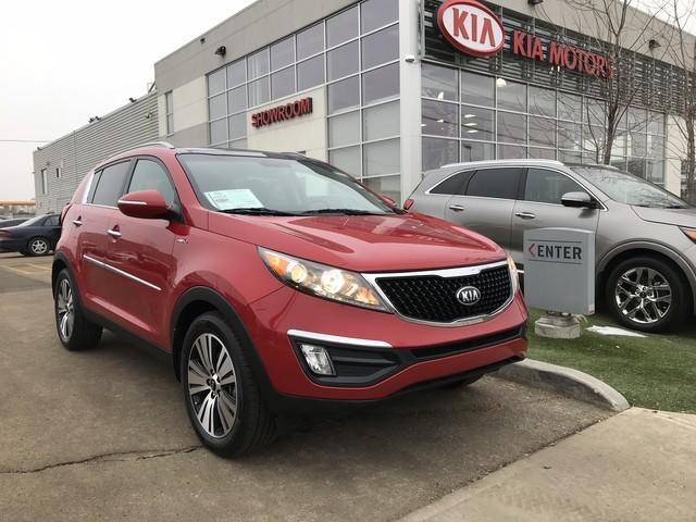 2014 Kia Sportage EX Luxury (Stk: 7189A) in Edmonton - Image 1 of 20