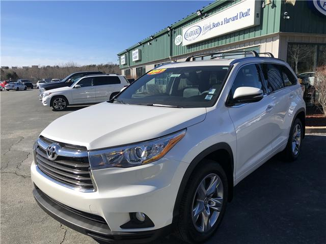 2016 Toyota Highlander Limited (Stk: 10270) in Lower Sackville - Image 1 of 25