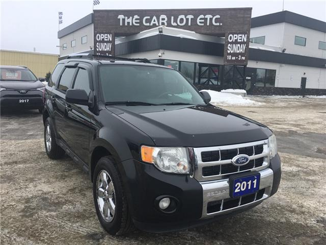 2011 Ford Escape Limited (Stk: 18688-1) in Sudbury - Image 1 of 5