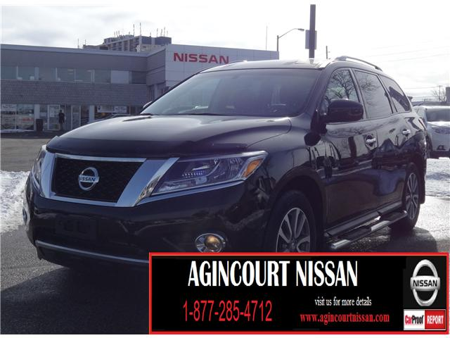 2016 Nissan Pathfinder SV (Stk: JN189345A) in Scarborough - Image 1 of 22