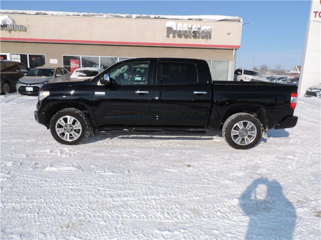 2017 Toyota Tundra Platinum 5.7L V8 (Stk: 180481) in Brandon - Image 1 of 24