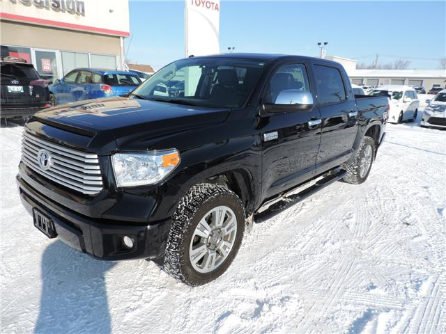 2017 Toyota Tundra Platinum 5.7L V8 (Stk: 180481) in Brandon - Image 2 of 24