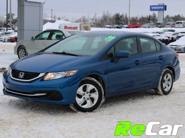 2014 Honda Civic LX (Stk: 181434A) in Fredericton - Image 1 of 23
