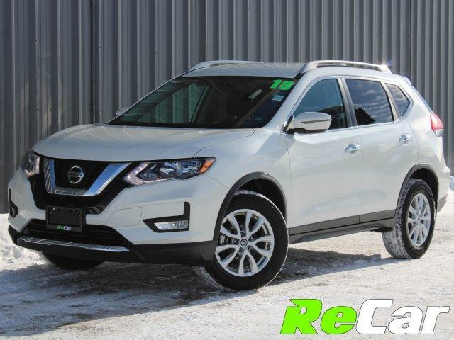 2018 Nissan Rogue SV (Stk: 190071A) in Fredericton - Image 1 of 9