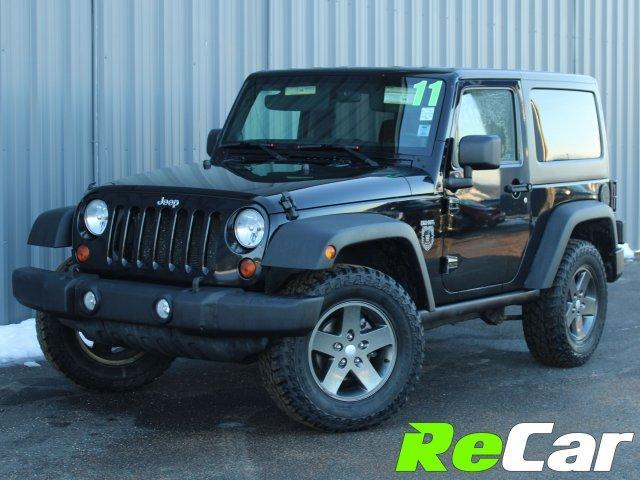 2011 Jeep Wrangler Rubicon (Stk: 190076A) in Fredericton - Image 1 of 16