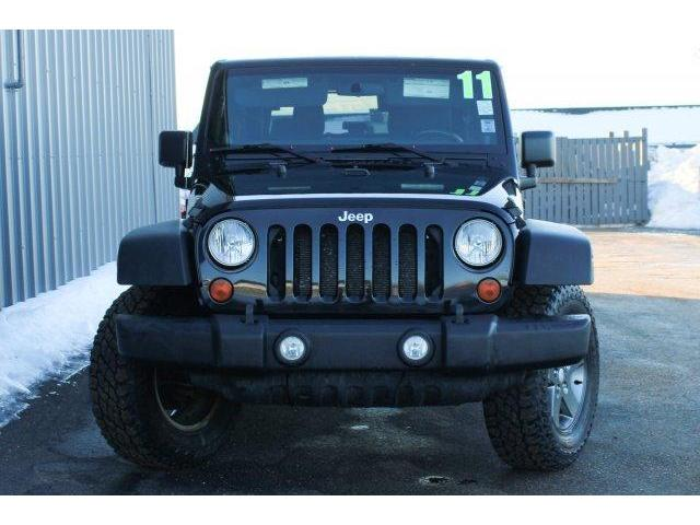 2011 Jeep Wrangler Rubicon (Stk: 190076A) in Fredericton - Image 2 of 16