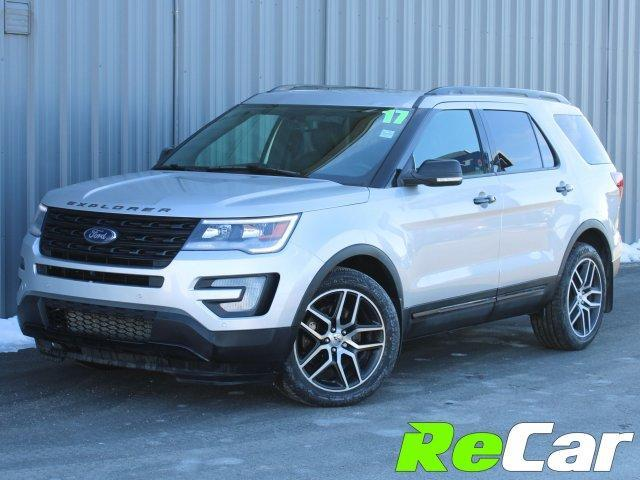 2017 Ford Explorer Sport (Stk: 190144A) in Fredericton - Image 1 of 24