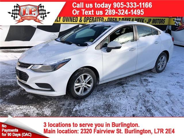 2017 Chevrolet Cruze LT Auto (Stk: 46148r) in Burlington - Image 1 of 16