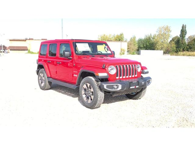 2018 Jeep Wrangler Unlimited Sahara (Stk: 181324) in Windsor - Image 2 of 11