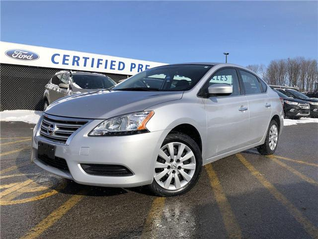 2015 Nissan Sentra 1.8 S (Stk: P8668) in Barrie - Image 1 of 19
