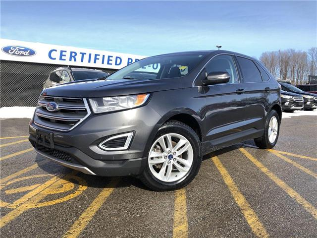 2016 Ford Edge SEL (Stk: ES181189A) in Barrie - Image 1 of 23