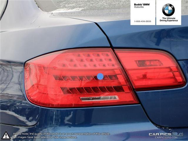 2013 BMW 328i xDrive (Stk: T946759B) in Oakville - Image 12 of 29