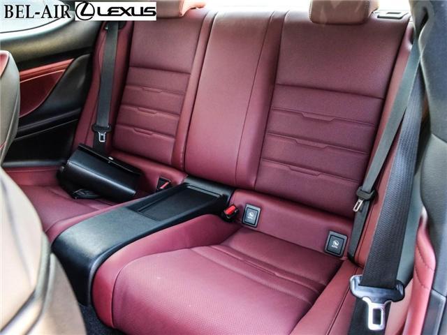 2015 Lexus RC 350 Base (Stk: L0474) in Ottawa - Image 24 of 25