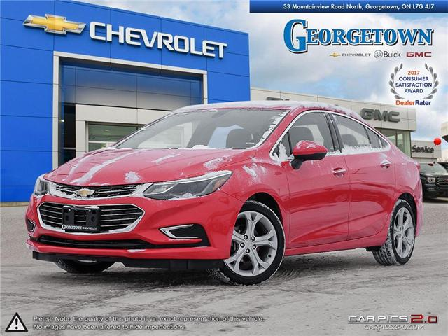 2018 Chevrolet Cruze Premier Auto (Stk: 29044) in Georgetown - Image 1 of 28