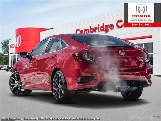 2019 Honda Civic Sport (Stk: 19448) in Cambridge - Image 4 of 22
