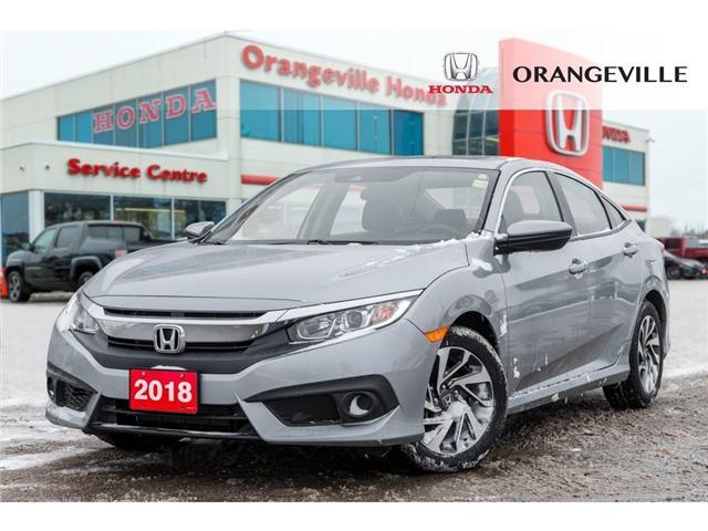 2018 Honda Civic EX (Stk: P19041A) in Orangeville - Image 1 of 20
