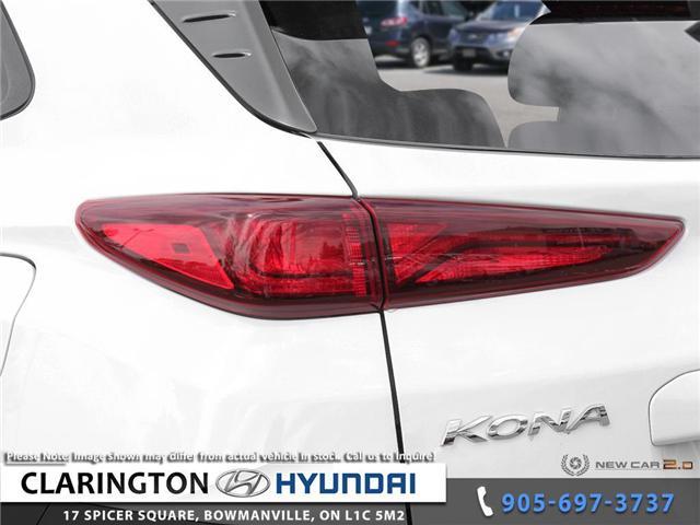 2019 Hyundai KONA 2.0L Luxury (Stk: 19077) in Clarington - Image 11 of 24
