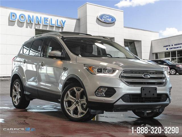 2019 Ford Escape Titanium (Stk: DS406) in Ottawa - Image 1 of 27