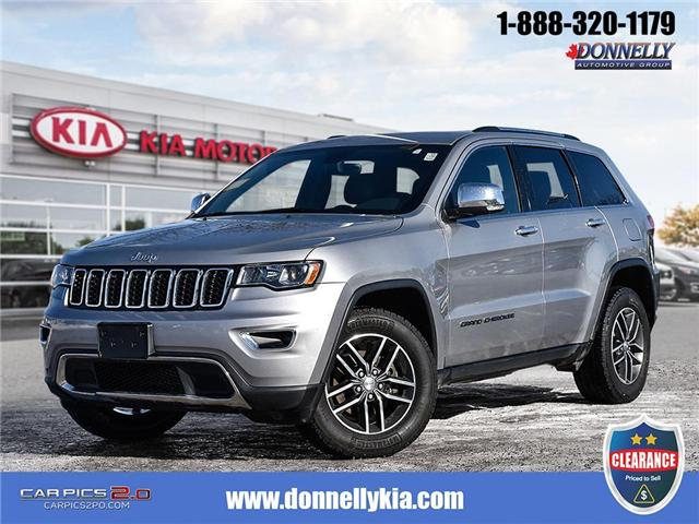 2017 Jeep Grand Cherokee Limited (Stk: CLKUR2213) in Kanata - Image 1 of 28