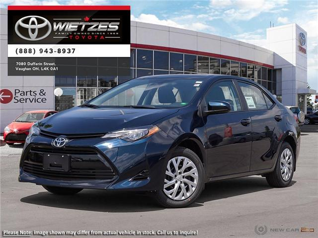 2019 Toyota Corolla LE (Stk: 68035) in Vaughan - Image 1 of 24