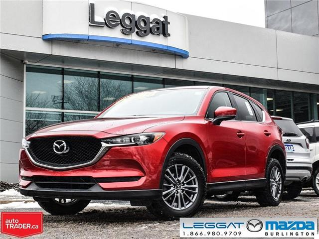 2017 Mazda CX-5 GS- AWD, MOONROOF, REAR CAMERA. BLUETOOTH (Stk: 1767) in Burlington - Image 1 of 22