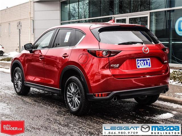 2017 Mazda CX-5 GS- AWD, MOONROOF, REAR CAMERA. BLUETOOTH (Stk: 1767) in Burlington - Image 4 of 22
