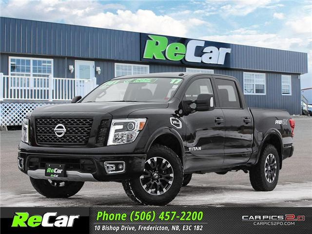 2017 Nissan Titan PRO-4X (Stk: 181180A) in Fredericton - Image 1 of 27